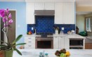 Kitchen in Blue | Oakland Hills