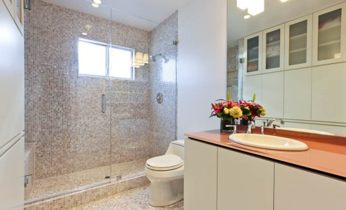 Customized, Built-in Bathroom