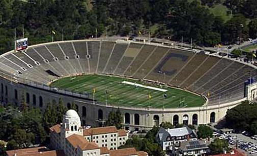 University of California Memorial Stadium Scoreboard | Berkeley