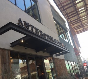 Roberts Electric was the electrical contractor for Palo Alto's Anthropologie store