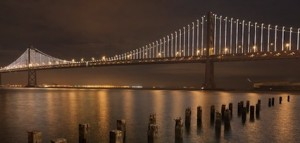 Roberts Electric LED lighting bay bridge